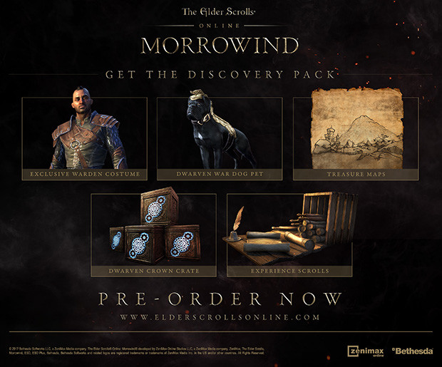 The Elder Scrolls Online: Morrowind - Upgrade Edition
