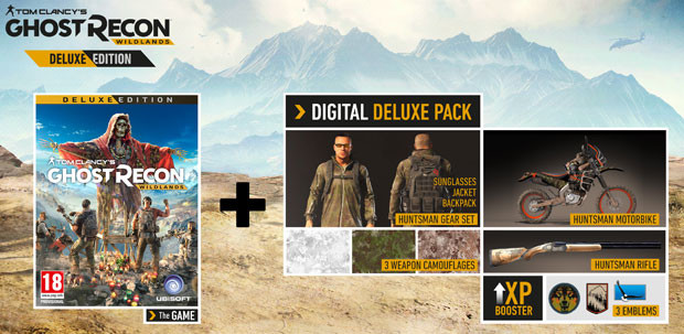 Tom Clancy's Ghost Recon Wildlands Deluxe Edition