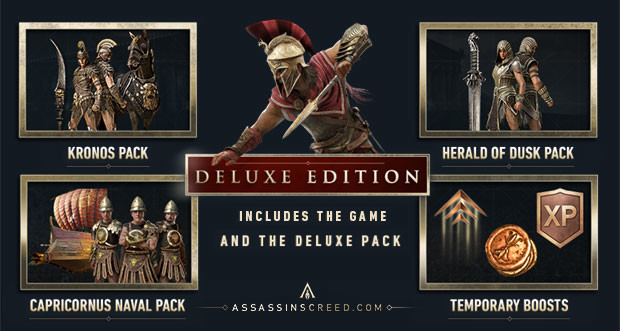 Assassin's Creed Odyssey - Deluxe Edition [Clé CD Uplay ...